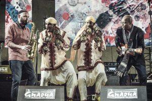 festival gnaoua 2016 fusion jeff ballard maalem kouyou
